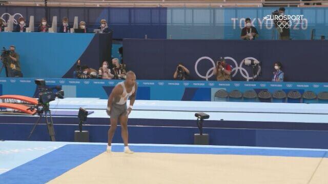 Tokio. Rayderley Zapata zdobył srebrny medal w gimnastyce sportowej