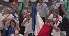 Tokio. Siatkówka: radość Francuzów po zwycięstwie w olimpijskim finale