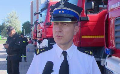 65 strażaków oraz 20 pojazdów z Wielkopolski jedzie gasić pożary lasów w Szwecji