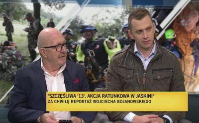 """Reportaż """"Szczęśliwa trzynastka"""". Rozmowa z Wojciechem Bojanowskim"""