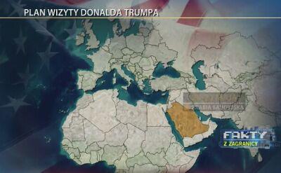 Plan wizyty Donalda Trumpa
