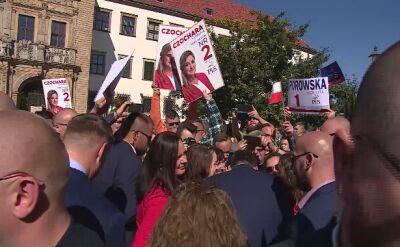 Milczenie premiera po pytaniu o prezesa Mariana Banasia