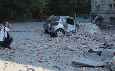 Kilkadziesiąt osób rannych w trzęsieniu ziemi w Albanii