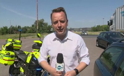 Eksperyment reportera TVN24 w rozgrzanym samochodzie