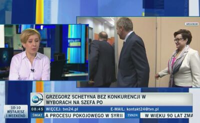 Dr Anna Materska-Sosnowska o wyborach w PO