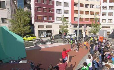 Zamieszanie na finiszu 6. etapu. Buchmann pomylił drogę