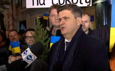 """Palikot odwiedzi Kijów. """"Będę namawiał do dialogu"""""""