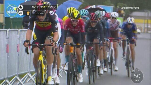 Finisz Tadeja Pogacara na 16. etapie Tour de France