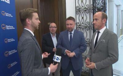 Kierwiński: mamy dwie rzeczywistości, przedwyborczą i powyborczą