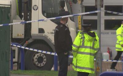 Ciężarówka z ciałami 39 osób znaleziona w Anglii