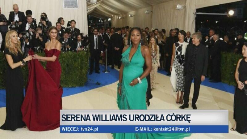 Serena Williams matką