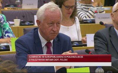 Bogusław Liberadzki podczas debaty