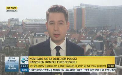 Komisja Europejska będzie debatować o Polsce