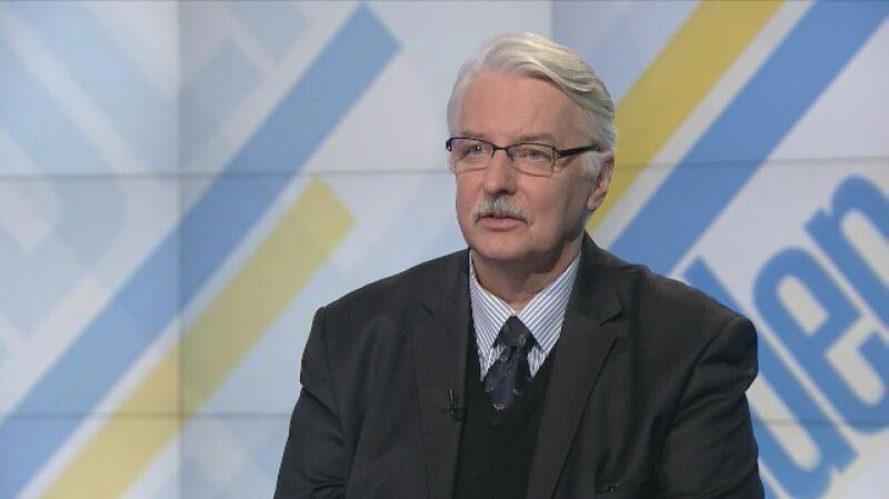 """Minister Waszczykowski tłumaczy się z """"rowerzystów i wegetarian"""""""