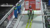 Zwycięski skok Kamila Stocha w sobotnim konkursie PŚ w Titisee-Neustadt