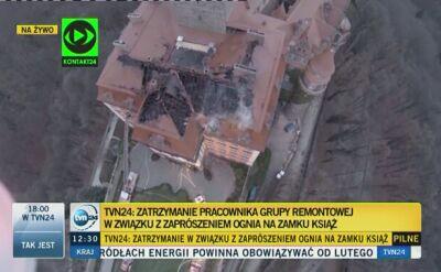 Podejrzany O Zaprószenie Ognia W Zamku Książ Oglądaj Wideo Tvn24