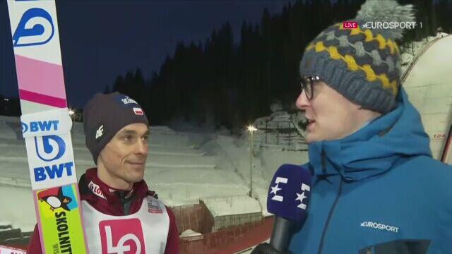 Rozmowa z Piotrem Żyłą po kwalifikacjach w Trondheim