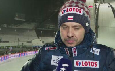 Michal Doleżal ocenił konkurs w Lillehammer