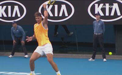 Prosty błąd Rafy Nadala w finale Australian Open
