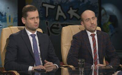 Kamil Bortniczuk i Borys Budka w Tak Jest