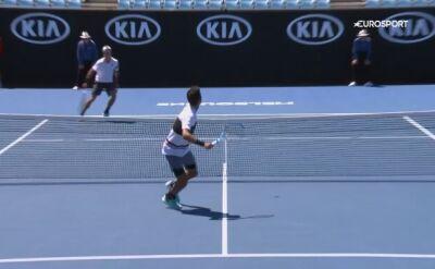Włoski magik wyczarował najpiękniejsze zagranie Australian Open