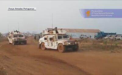 Portugalscy spadochroniarze w Republice Środkowoafrykańskiej