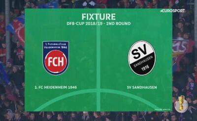 Dovedan wprowadził Heidenheim do 3. rundy Pucharu Niemiec