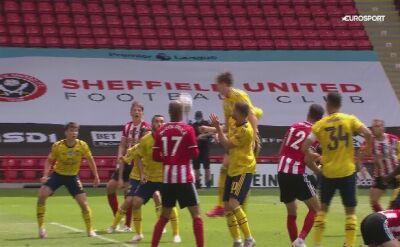 Arsenal pokonał Sheffield United w ćwierćfinale Pucharu Anglii