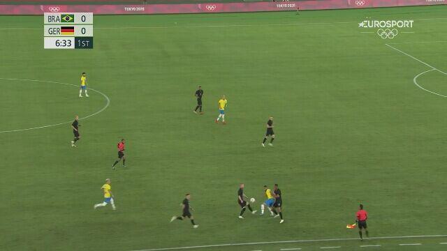 Tokio. Piłka nożna mężczyzn. Brazylia - Niemcy 1:0 (gol Richarlisona)