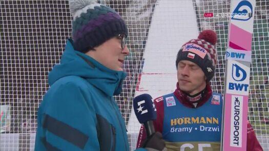 Dawid Kubacki po kwalifikacjach w Innsbrucku