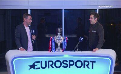 Ronnie O'Sullivan w rozmowie z Eurosportem po zdobyciu tytułu MŚ