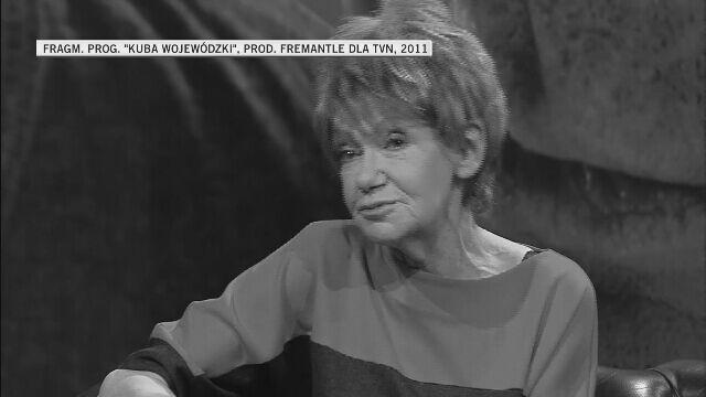 """Maria Czubaszek o show biznesie (""""Kuba Wojewódzki"""", 2011 r.)"""