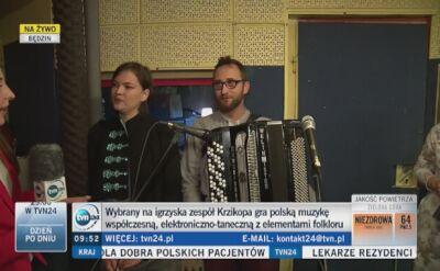 Nazywają się Krzikopa, będę reprezentować Polskę