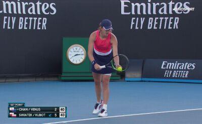 Iga Świątek i Łukasz Kubot w ćwierćfinale miksta Australian Open