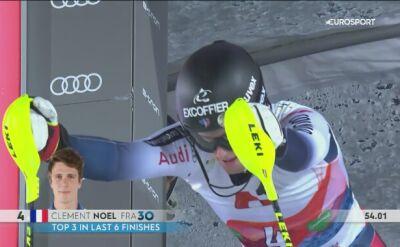 Niesamowity wyczyn Noela w slalomie w Schladming, awansował o 26 miejsc