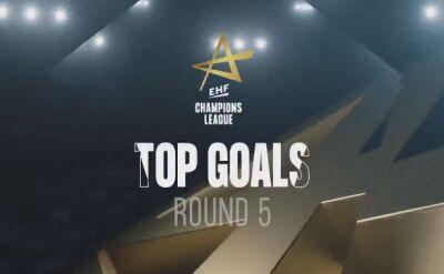 TOP 5 goli 5. kolejki Ligi Mistrzów