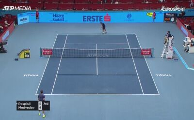 Daniił Miedwiediew w 3. rundzie turnieju w Wiedniu