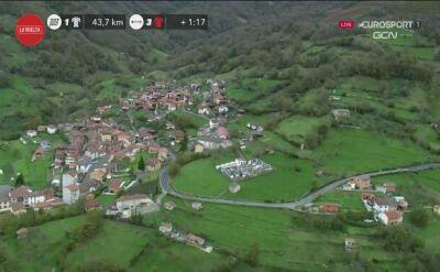 Upadek Formolo na 12. etapie Vuelta a Espana