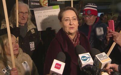 Joanna Jaśkowiak komentuje przesłuchanie