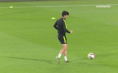 Gwiazdor Tottenhamu wraz z reprezentacją trenuje przed Brazylią