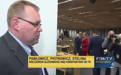 Jakub Stelina nowym kandydatem do Trybunału Konstytucyjnego