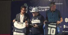 Maradona zrezygnował z posady trenera Gimnasii La Plata