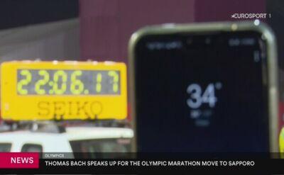 MKOl podtrzymał decyzję o przeniesieniu maratonów do Sapporo podczas IO w Tokio