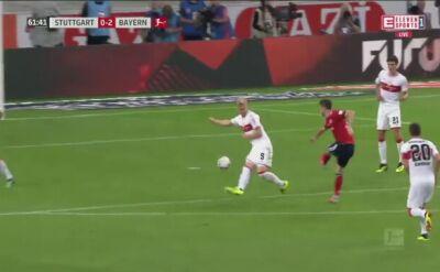 Gol i asysta Lewandowskiego z VfB