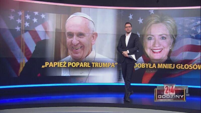 Papież poparł Trumpa? To tzw. fake news