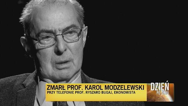 Bugaj o Modzelewskim: dla niego ważna była historia