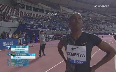 Caster Semenya wygrała bieg na 800m na inaugurację Diamentowej Ligi