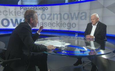 Miller: nie mogę głosować na Andrzeja Rozenka