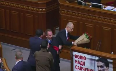 Arsenij Jaceniuk - niechciany premier Ukrainy