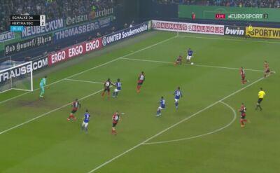 Amine Harit z golem wyrównującym dla Schalke